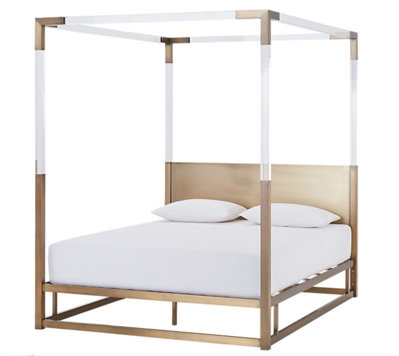 Acrylic Canopy Bed
