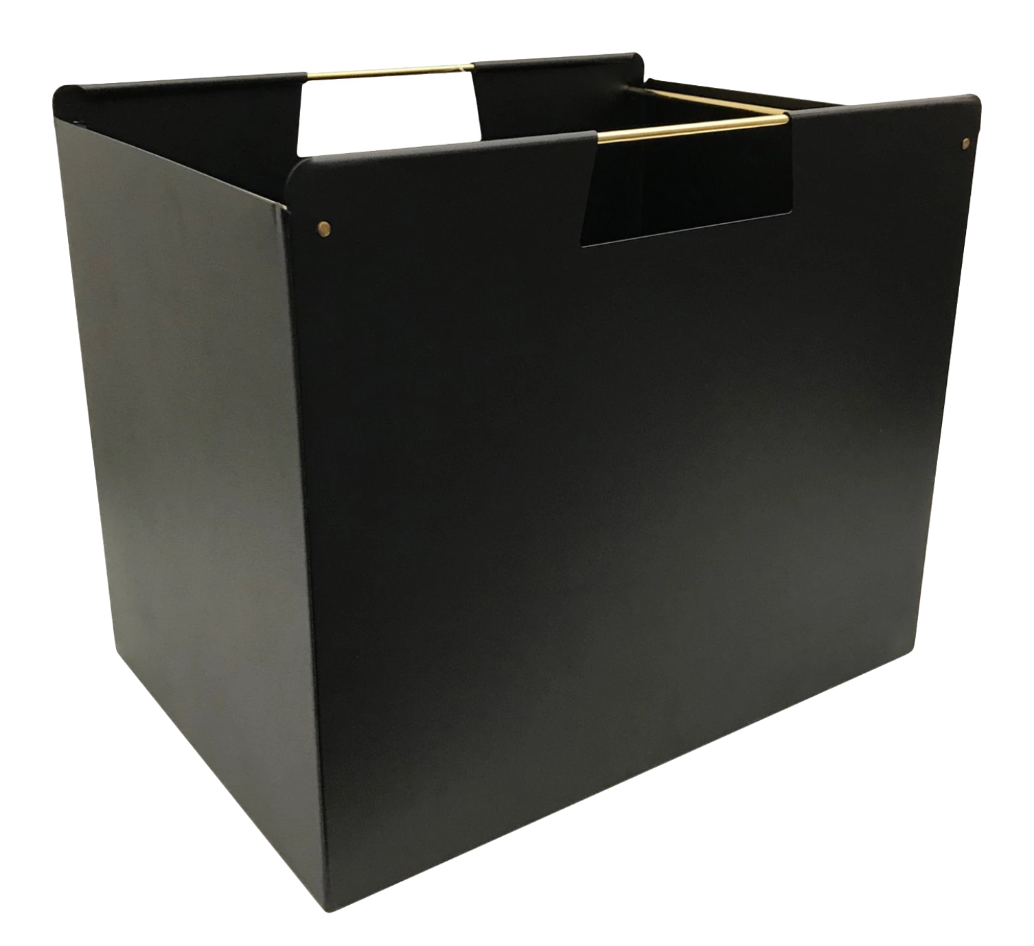 Black Metal Storage Box