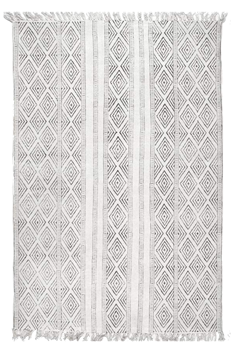 Off-White Area Rug