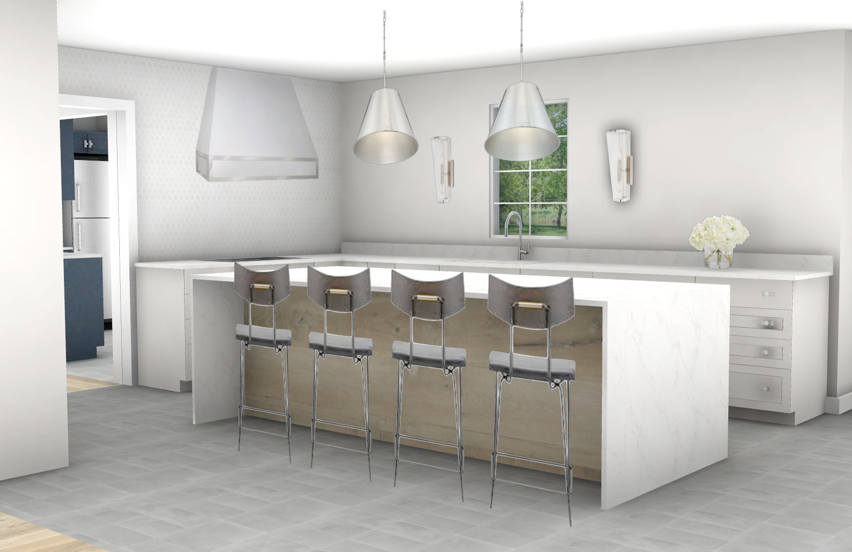 Kitchen Vision Board