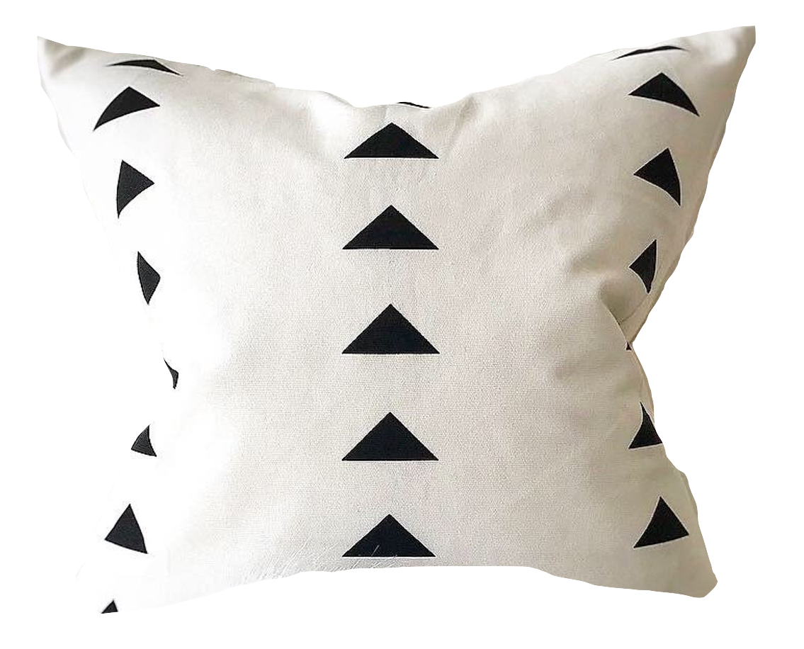 Bright Modern Clubhouse Lounge Decorative Pillow