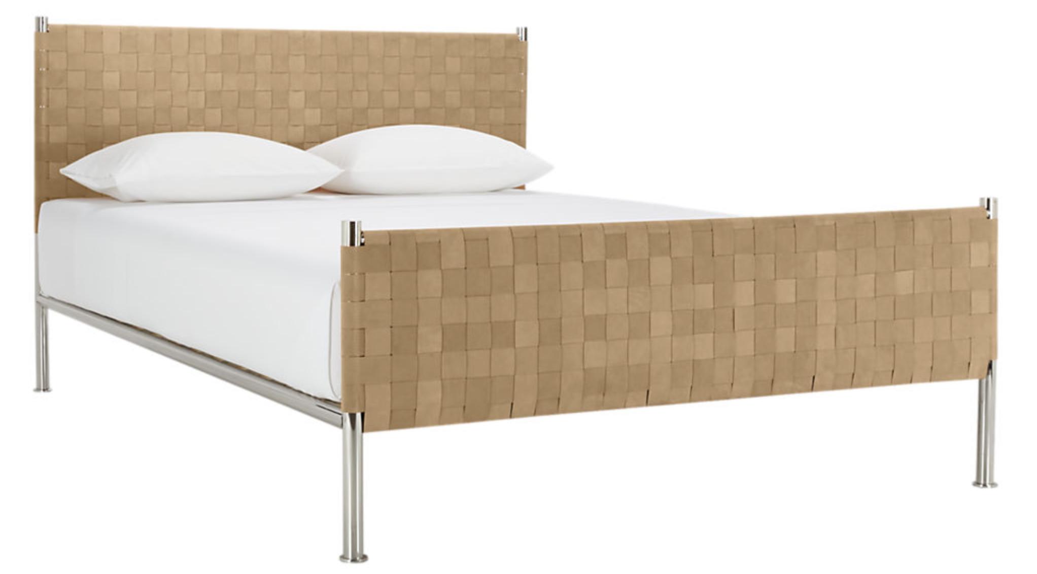 Camel Suede Bed