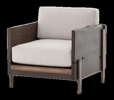 Reclaimed Oak Armchair