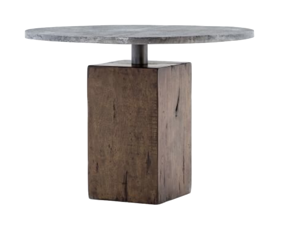 Scout & Nimble Boomer Bistro Table in Tanner Brown