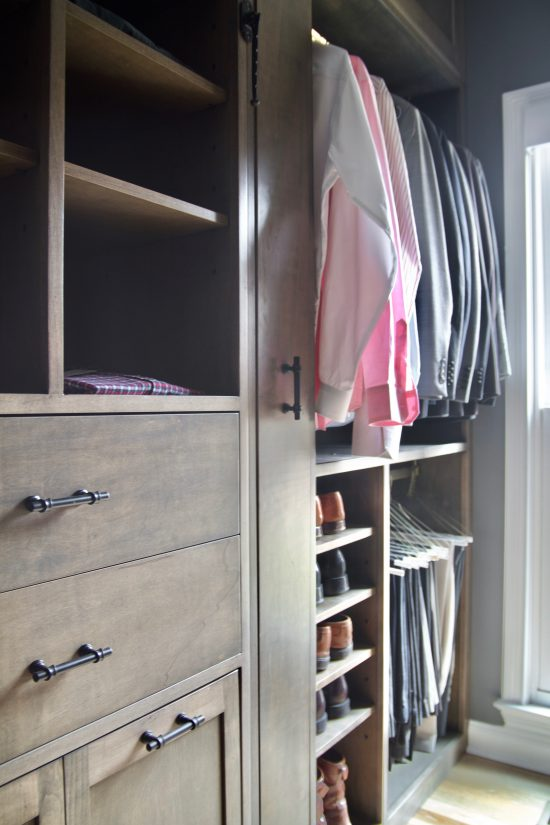 A Bellevue, Tennessee Interior Design Home Remodel Custom Master Closet