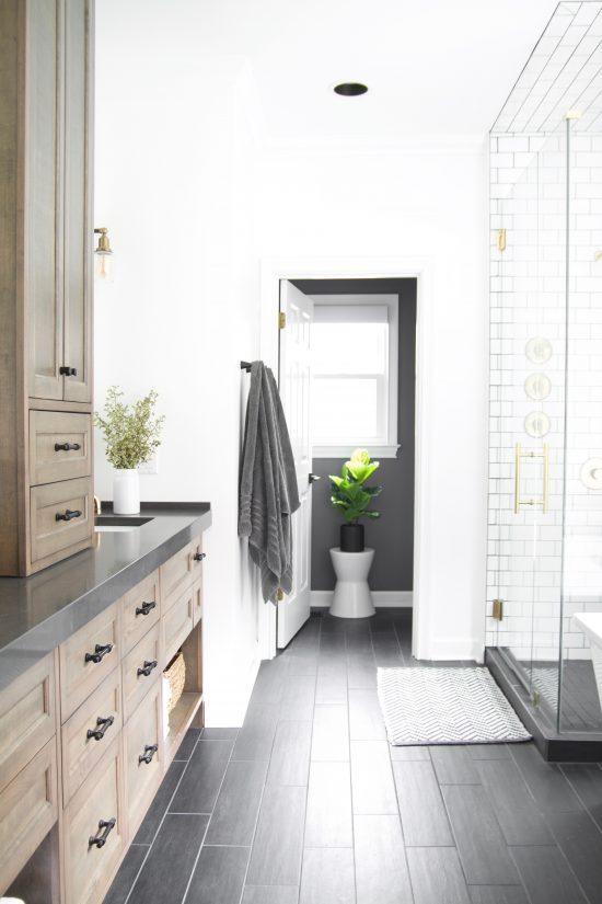 A Bellevue, Tennessee Interior Design Home Remodel Master Bath