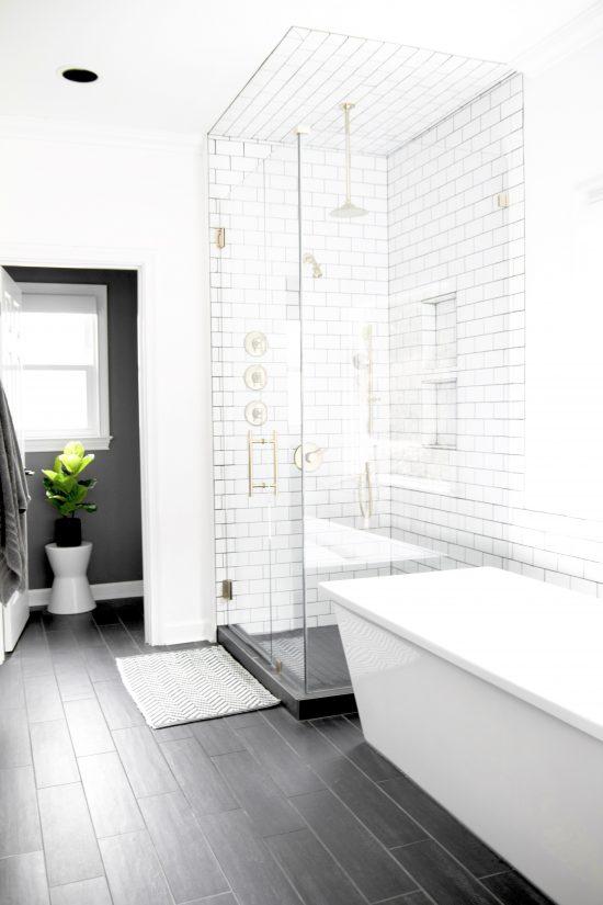 A Bellevue, Tennessee Interior Design Home Remodel Master Bath Shower