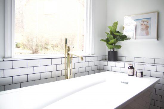 A Bellevue, Tennessee Interior Design Home Remodel Master Bath Tub