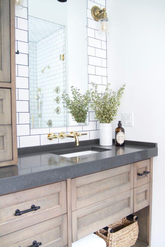 A Bellevue, Tennessee Interior Design Home Remodel Master Bathroom Vanity