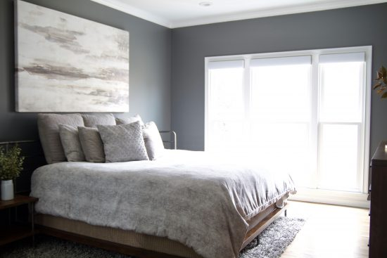 A Bellevue, Tennessee Interior Design Home Remodel Master Bedroom