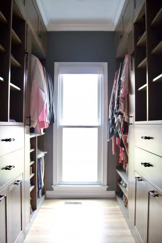 A Bellevue, Tennessee Interior Design Home Remodel Master Walk In Closet