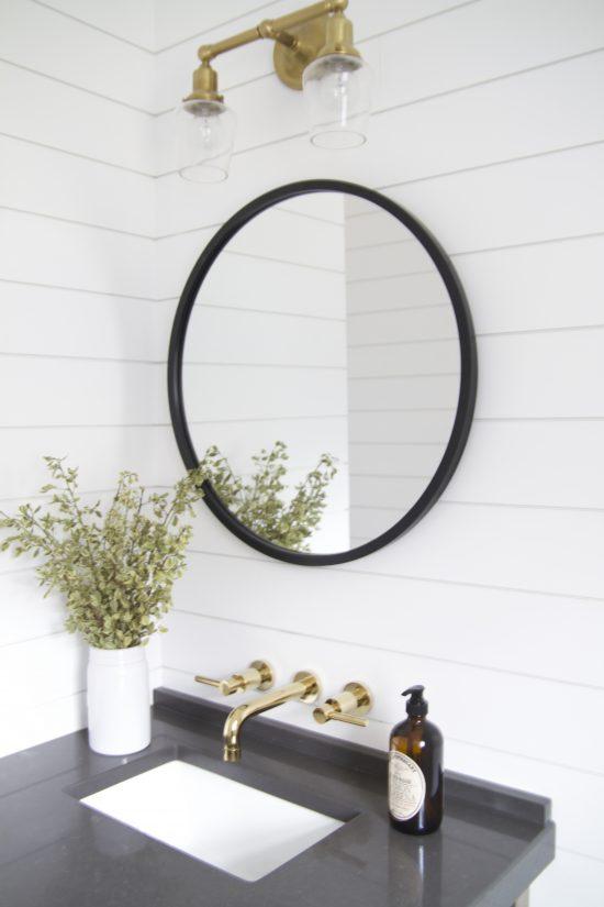 A Bellevue, Tennessee Interior Design Home Remodel Powder Bath