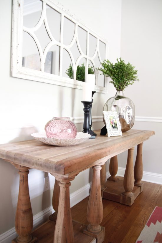A Brentwood, Tennessee Interior Design Home Dining Buffet Table