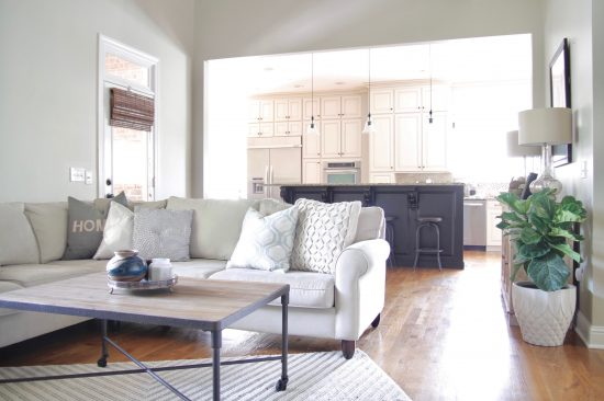 A Brentwood, Tennessee Interior Design Home Family Room