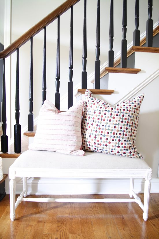 A Brentwood, Tennessee Interior Design Home Stairway