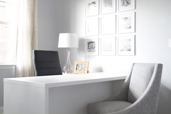 A Cookeville, Tennessee Office & Community Center Interior Design Manager's Desk