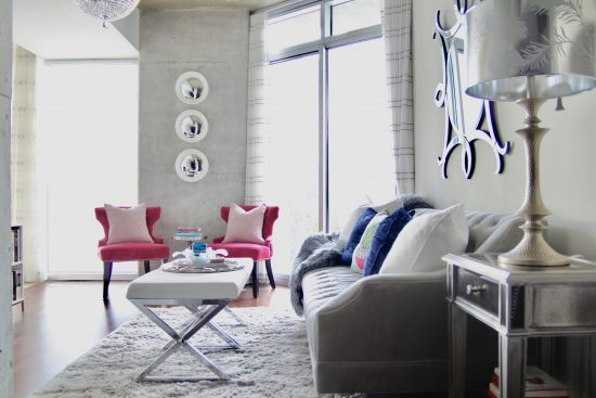 A Downtown Nashville, Tennessee Interior Design Condo Living