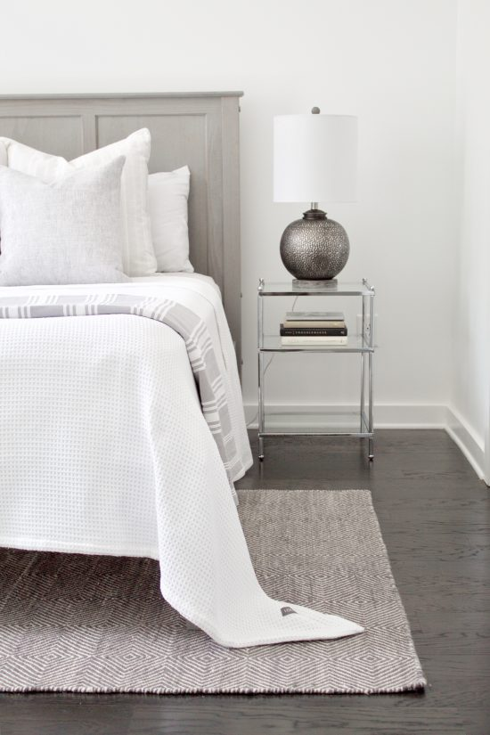 A Nashville, Tennessee Interior Design New Condo Guest Bedroom