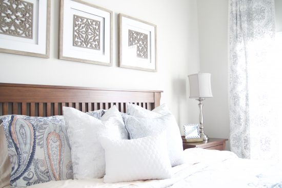 A Spring Hill, Tennessee Interior Design Home Guest Bedroom