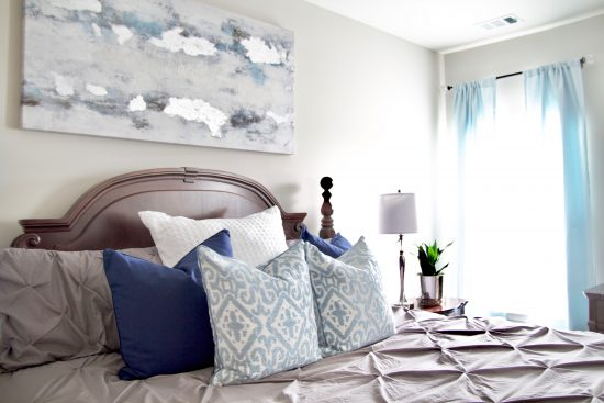 A Spring Hill, Tennessee Interior Design Home Master Bedroom