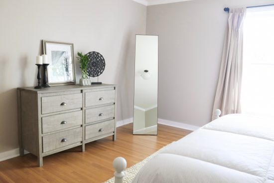 A Sylvan Park, Tennessee Interior Design Home Guest Room Dresser
