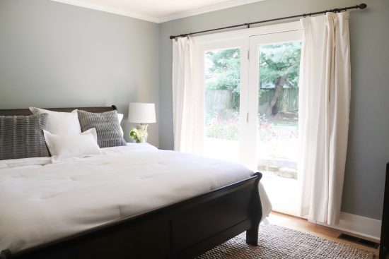 A Sylvan Park, Tennessee Interior Design Home Master Bedroom