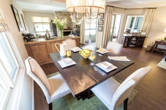 A Toluca Lake, California Interior Design Condo with Open Living