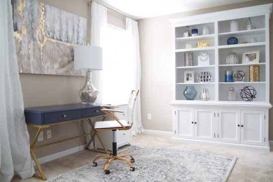 An Antioch, Tennessee Interior Design Home Office
