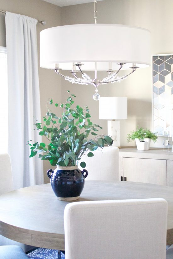 Antioch, Tennessee Interior Design Dining Room Chandelier
