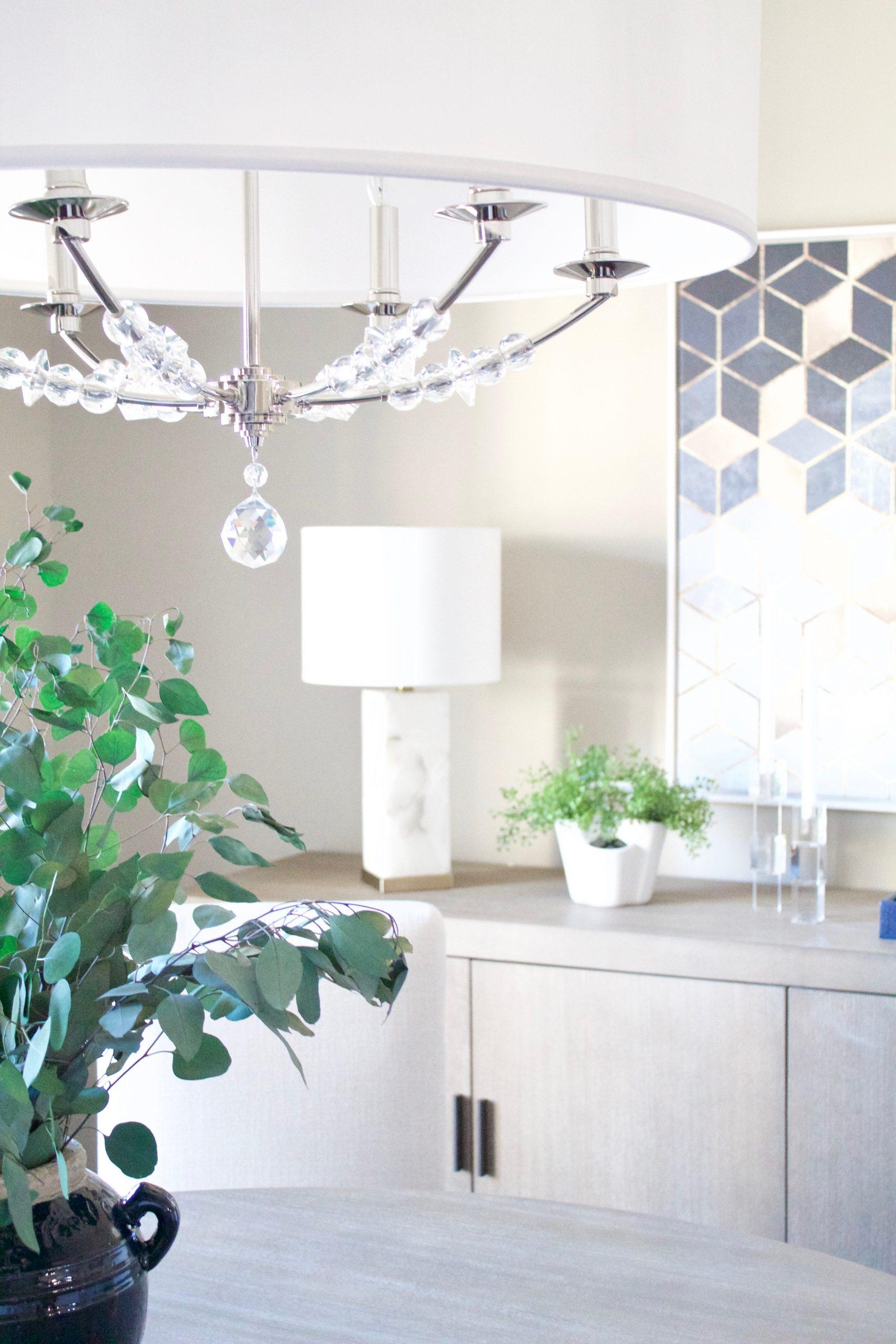 Antioch, Tennessee Interior Design Dining Room Lighting