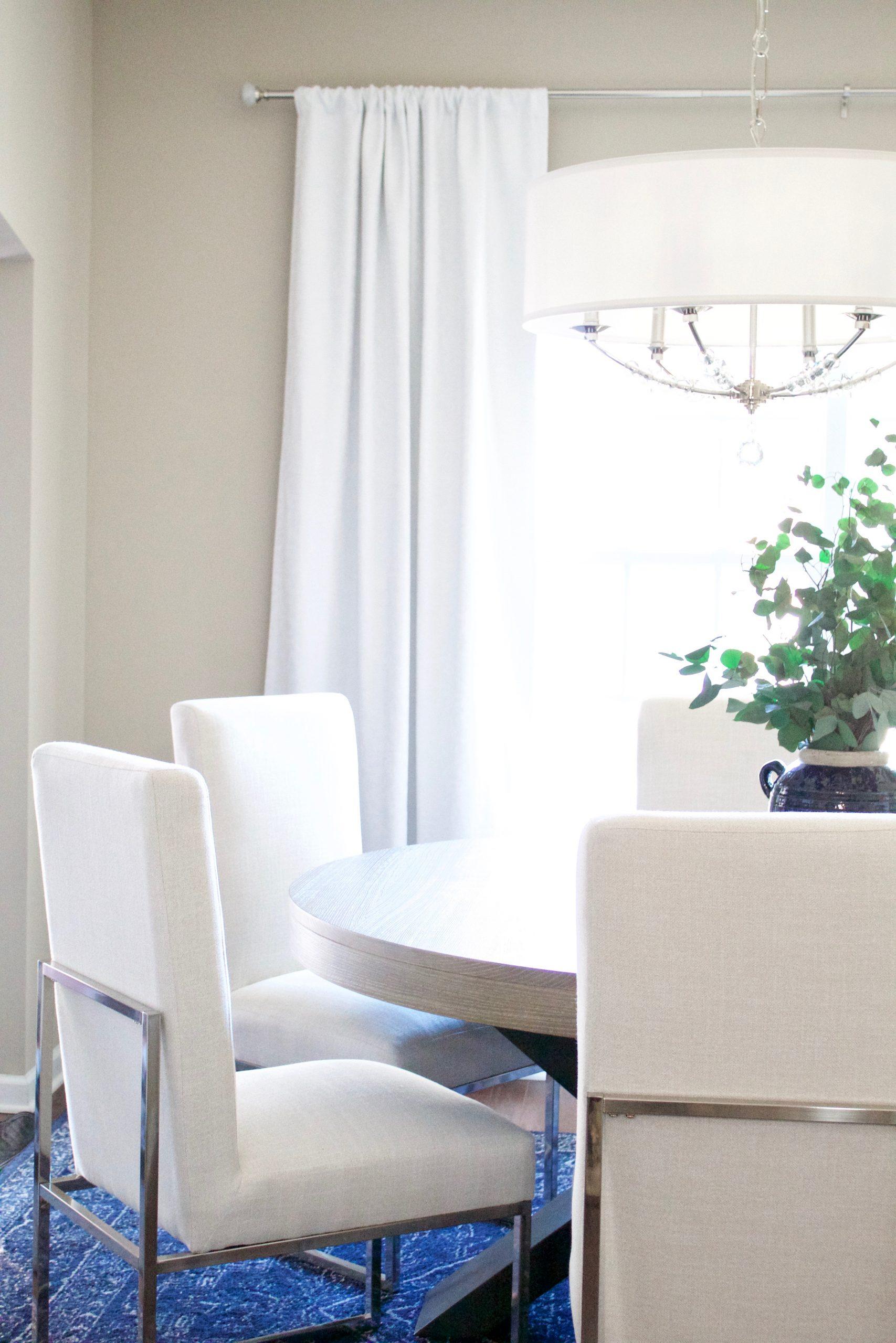Transitional Glam Dining Room