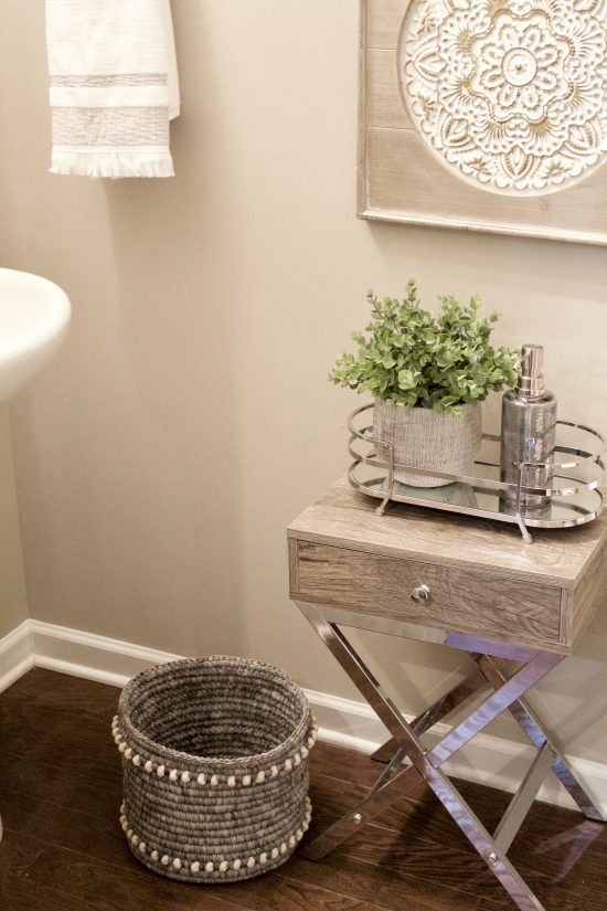 Antioch, Tennessee Interior Design Powder Bath