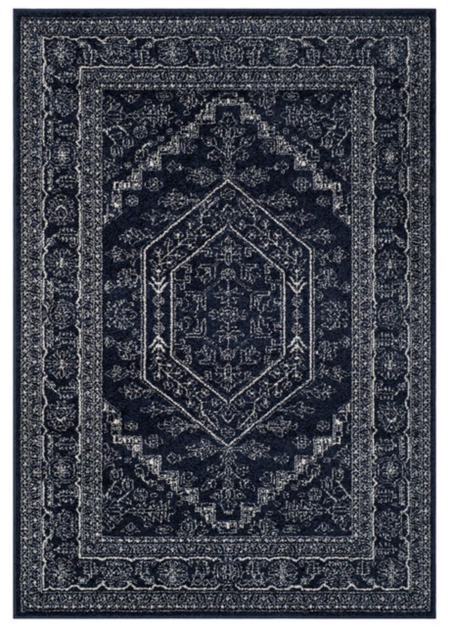 8'x10' Navy Rug