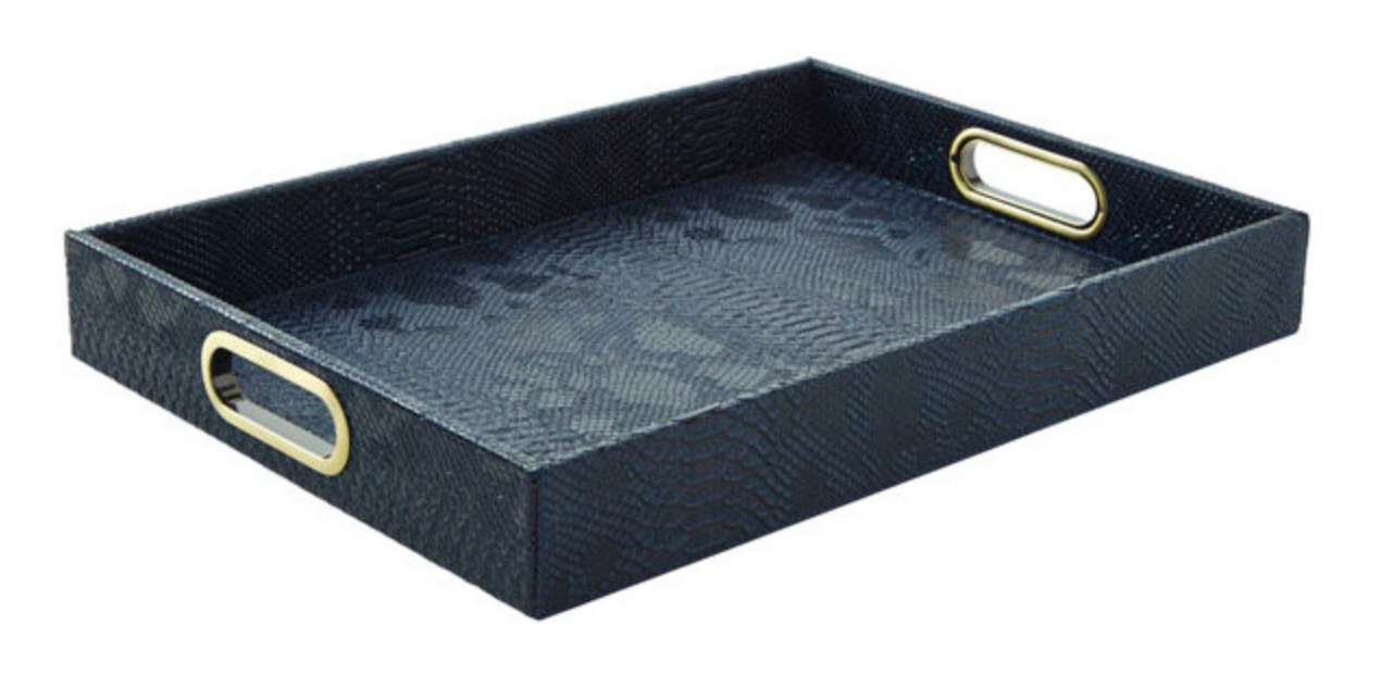 Navy Serving Tray