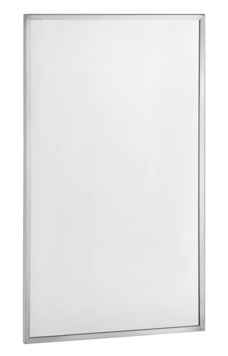 Wayfair Brey-Krause Commercial Restroom Mirror – 18 inches Wide by 36 inches Tall