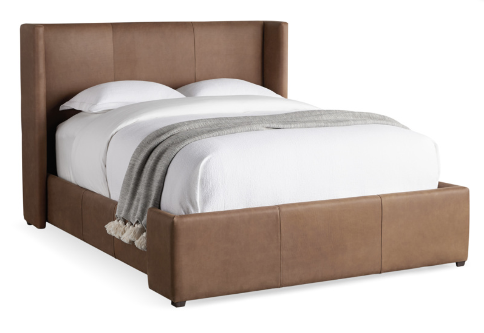 Impact Arhaus wyller leather bed