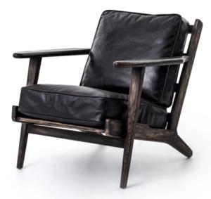 Scout & Nimble Brooks Lounge Chair in Rialto Ebony