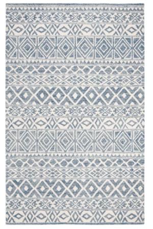 Wayfair Ralph Lauren Theresa Hand-Tufted Wool Ivory/Blue Area Rug