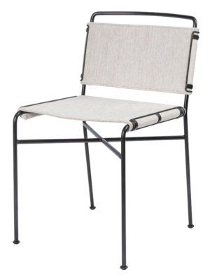 Lulu and Georgia TRYSTA DINING CHAIR, NATURAL
