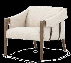 France and Son Bauer chair-thames cream (Eisenhower)