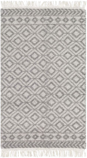 Wayfair Carletta Geometric Handmade Flatweave Wool Rug