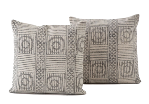 France and Son Four Hands Faded Block Pillow