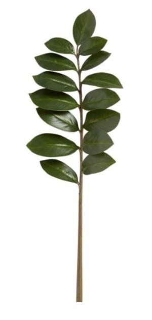 Overstock 28″ Zamioculcas Artificial Flower Stem (Set of 6)