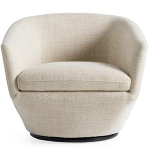 Arhaus pelton swivel chair