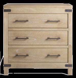 Arhaus tremont three drawer chest