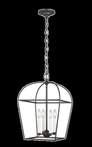 1StopLighting Generation Lighting – CC1084SMS – Stonington – Four Light Chandelier