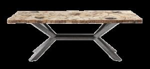 Arhaus petra rectangle dining table