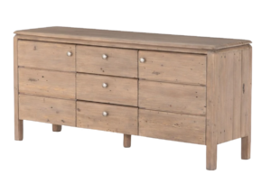 France and Son MONROE SIDEBOARD-SCRUBBED TEAK