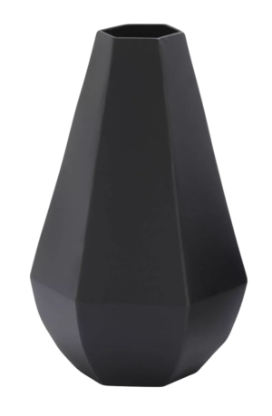 Target Set of 2 Metal Geometric Vases Black – Olivia & May