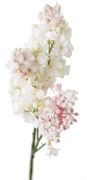 AFloral Pink Cream Artificial Lilac Flower